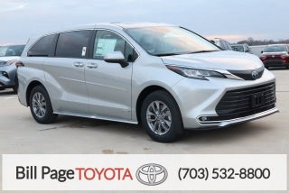 2021 Toyota Sienna Xle 7 Passenger Falls Church Va Serving Springfield Fairfax Washington Dc Virginia 5tdyrkec8ms005912