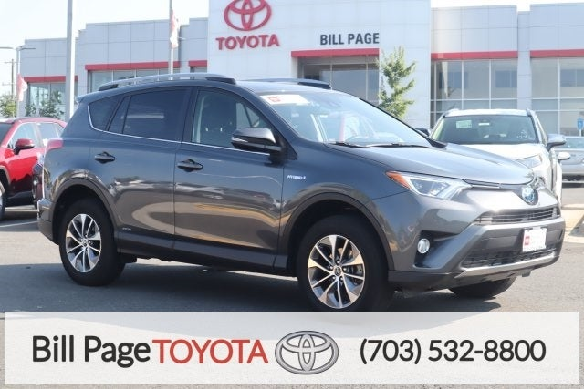2018 Toyota Rav4 Hybrid Xle In Falls Church Va Bill Page